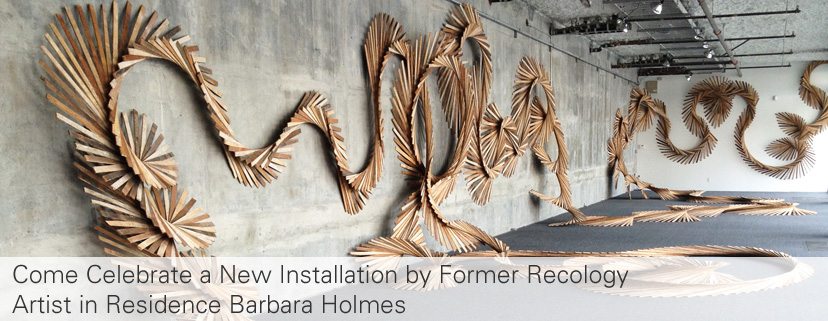 Come Celebrate Barbara Holmes' Installation