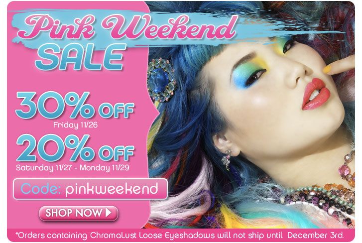 Pink Weekend Sale